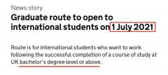 这些留学生必须在6月21日前入境英国!